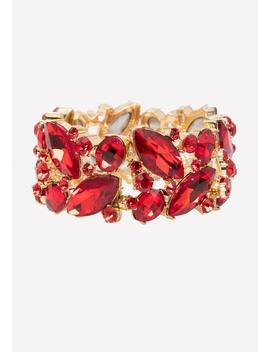 Ornate Crystal Bracelet by Bebe