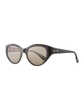 Del Rey Wraparound Cat Eye Sunglasses by Garrett Leight