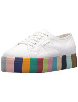Superga Women's 2790 Cot14 Colorsfoxingw Sneaker by Superga