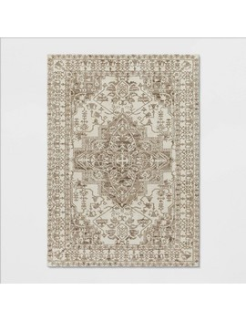 Pavoria Vintage Persian Tufted Medallion Rug   Opalhouse by Opalhouse