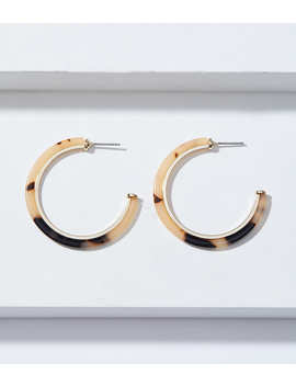 Resin Hoop Earrings by Loft