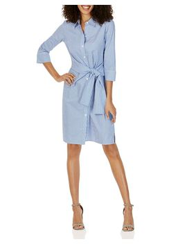 The Parisian Striped Shirt Dress by Foxcroft