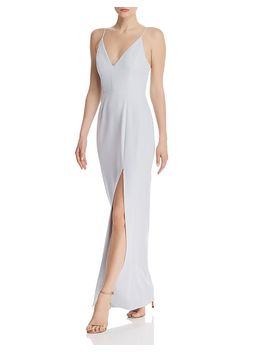maisle-plunging-slip-maxi-dress by wayf