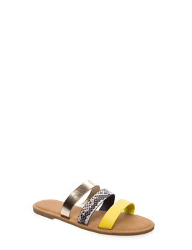 Three And Easy Strappy Slide Sandals by Go Jane