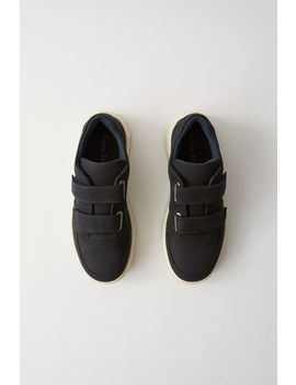 Baskets Velcro Blanc/Noir by Acne Studios