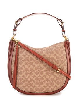 Sutton Signature Canvas Hobo Bag by Coach