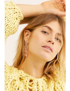 Glisten Beaded Earrings by Free People