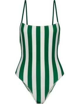 The Chelsea Striped Swimsuit by Solid & Striped