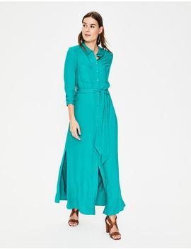 Katrina Maxi Shirt Dress by Boden