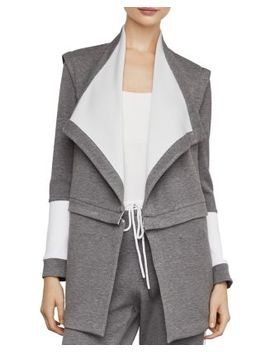 Convertible Zip Waist Color Block Jacket by Bcbgmaxazria