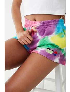 Pepsi Tie Dye Shorts by Forever 21