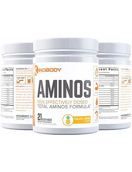 kinobody:-kino-aminos---natural-bcaa-supplement---21-servings---boost-natural-muscle-growth---lower-fatigue-from-training---improve-recovery-time---fuel-fasted-training---pineapple-mango by kinobody-nutrition