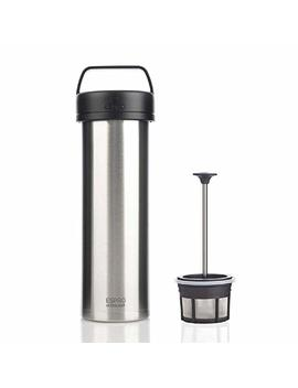 espro-5116c-bs-ultralight-coffee-press,-vacuum-insulated,-stainless-steel,-16-oz-(brushed) by espro