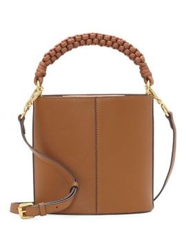 Zane Drum Leather Crossbody Bag by Vince Camuto