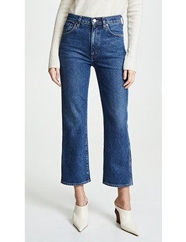 The Cropped A Jeans by Goldsign