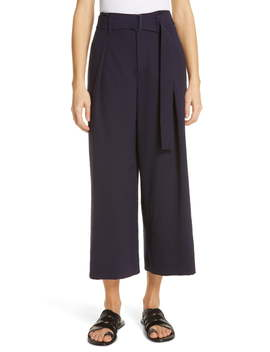 Belted Culotte Pants by Vince