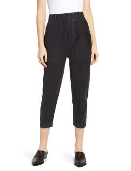 Cotton Twill Taper Crop Pants by Citizens Of Humanity