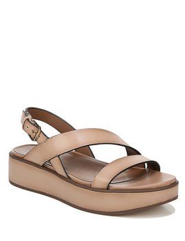 Charlize Leather Flatform Sandals by Naturalizer