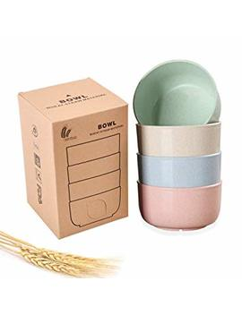 eco-friendly-healthy-wheat-straw-plastic-bowl-for-soup,-popcorn,-fruit,-kids-snacks,-salad,-fda-approved,-bpa-free,-set-of-4-pcs by yamazihd