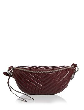 Edie Large Leather Sling Belt Bag by Rebecca Minkoff
