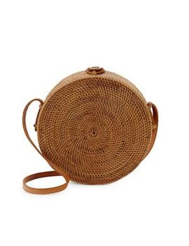 Koret Straw Crossbody Bag by Straw Studios