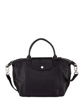 Longchamp Lightweight Leather Tote by Longchamp