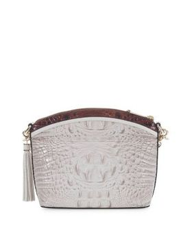 Mini Brando Duxbury Leather Crossbody Bag by Brahmin