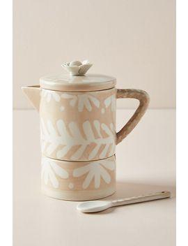 Anna Westerlund Gloria Sugar Pot And Creamer Set by Anna Westerlund