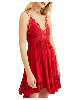 Adella Sleeveless Crochet Trim Dress by Free People