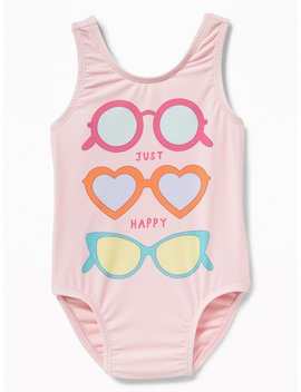 Graphic Swimsuit For Toddler Girls by Old Navy