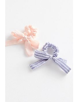 Bff Bow Scrunchie Set by Urban Outfitters