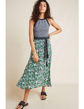 Susannah Wrap Midi Skirt by Velvet By Graham & Spencer