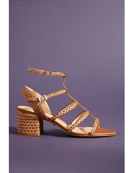Schutz Woven Heeled Sandals by Schutz