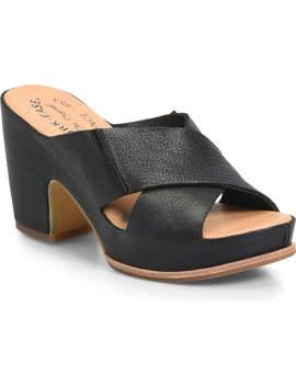 Garden Platform Slide Sandal by Kork Ease®