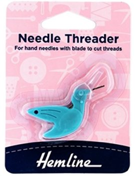 Hemline Hummingbird Needle Threader For Hand Needles by Hemline