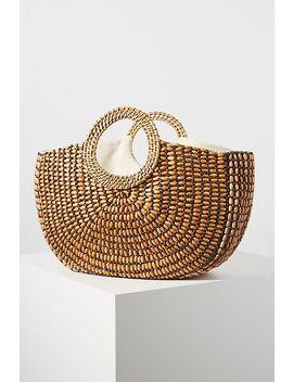 Lindsay Beaded Tote Bag by Anthropologie
