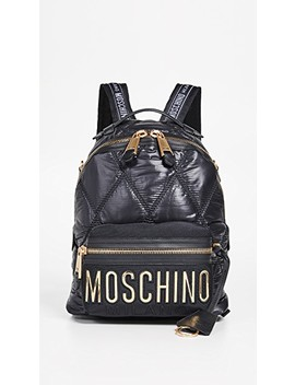 Quilted Moschino Backpack by Moschino