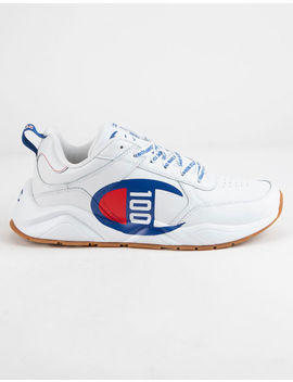 Champion 93 Eighteen 100 White Boys Shoes by Champion