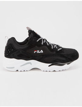 Fila Ray Tracer Black & White Womens Shoes by Fila
