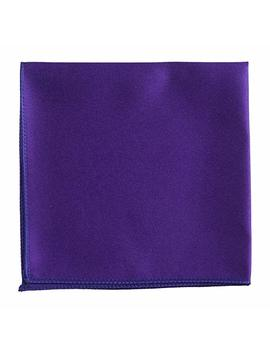 Pocket Square Hanky In Solid Colors Sized For Boys And Men By Tuxedo Park by Tuxgear
