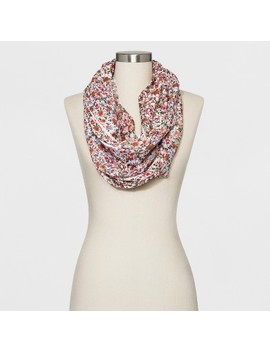 Collection Xiix Women's Floral Print Loop Scarf by Collection Xiix
