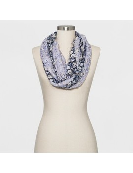 Collection Xiix Women's Floral Print Loop Scarf   Chambray by Chambray