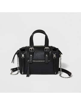 Top Handle Crossbody Bag With Chain Strap   Wild Fable Black by Wild Fable Black