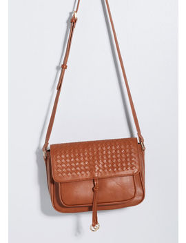 Woven Moment Crossbody Bag by Modcloth