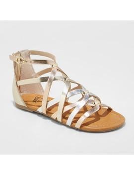Girls' Freya Metallic Gladiator Sandals   Art Class by Art Class