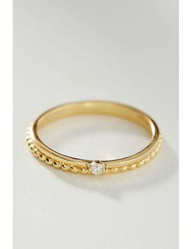 Shashi 18 K Gold Roped Ring Set by Shashi