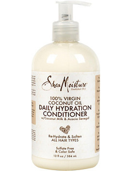 100% Virgin Coconut Oil Daily Hydration Conditioner by Shea Moisture