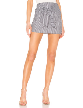 Leti Tie Front Skirt by Superdown