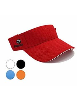 Sportswear Fitness (Cap Or Visor): Quick Dry/Fast Absorption, Indoor/Outdoor Activity, Light Weighted Sport Style, Water Resistant Fabric, Adjustable Back, Fits Almost Everybody. by Ct Goods