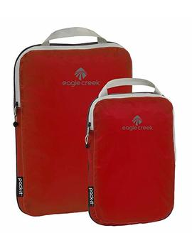 Eagle Creek Pck It Spctr Cmpressn Cube St 2pc St (S, M), Volcano Red by Eagle Creek